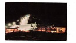 ST. SAUVEUR Des MONTS, Quebec, Canada, Mont Habitant, Night Skiing, Old Chrome Postcard - Other