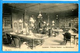 COVR1413, Lausanne, Tribunal Fédéral, La Bibliothéque, 73,  Circulée Sous Enveloppe - VD Vaud