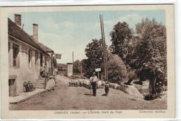 """Chervey - L'entrée Nord Du Pays """"berger"""" """"moutons"""" - Other Municipalities"""