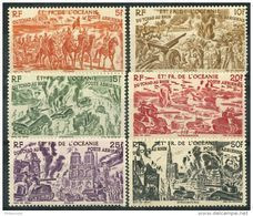 Oceanie (1946) PA N 20 à 25 * (charniere) - Unused Stamps