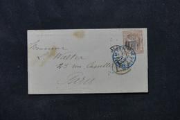 ESPAGNE - Lettre Pour Paris En 1870, Affranchissement  Allégorique - L 75801 - Cartas