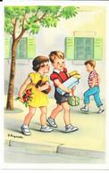 Lagarde J. - Heureux Anniversaire -  Fille, Garçons, Cadeaux, Fleurs-  Neuves - Otros Ilustradores