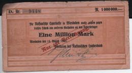 Eine Million MARK  17-8-1923 - Sin Clasificación