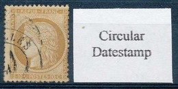D - [100028]TB//O/Used-c:125e-N° 36, 10c Bistre, Cachet Circulaire A Date. - 1870 Besetzung Von Paris