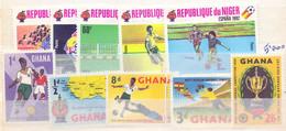 FRANCOBOLLI NIGER-GANA- FOOTABALL  2 SERIES  (OTT200570) - 1930 – Uruguay
