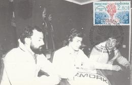 ANDORRE CARTE MAXIMUM 1984 J O SARAJEVO - Maximum Cards
