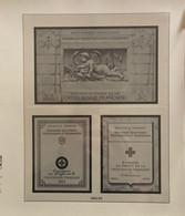 Lindner - France- Feuilles Pour Carnets Croix-Rouge - 1955 à 1974 - Afgedrukte Pagina's