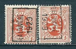 4959 Voorafstempeling Op Nr 276 - LA LOUVIERE 1929 - Positie A & B - Roller Precancels 1920-29
