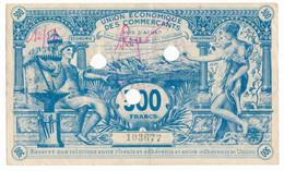 PERPIGNAN // UNION ECONOMIQUE DES COMMERCANTS // Bon De Trois Cents Francs - Bons & Nécessité