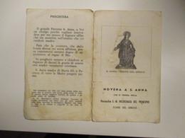 Novena S.ANNA Parrocchia S.M.Incoronata Del Principio Torre Del Greco Napoli LIBRETTO - Devotion Images