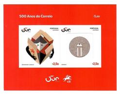 Portugal 2020 , 500 Anos CTT Portugal Correios - Block - Selbstklebend -  Postfrisch / MNH / (**) - Unused Stamps
