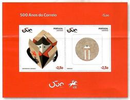Portugal 2020 , 500 Anos CTT Portugal Correios - Block - Postfrisch / MNH / (**) - Unused Stamps