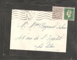 Enveloppe  Avec 80 C DULAC   Et 10c Arc De Triomphe  Oblit PARIS    1945 - Sin Clasificación