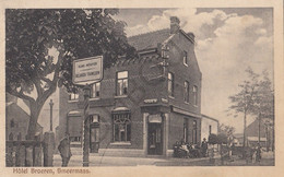 Postkaart-Carte Postale - SMEERMAAS - Lanaken - Hôtel Broeren   (B969) - Lanaken