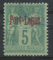 Port Lagos (1893) N 1 (o) - Used Stamps
