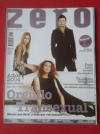 SPAIN REVISTA MAGAZINE ZERO TEMÁTICA GAY HOMOSEXUAL LESBIANAS TRANSEXUAL LGTBI HOMBRES MUJERES Nº 70 2004 VER FOTO...... - [3] 1991-…