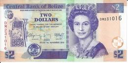 BELIZE - 2 Dollars 2014 - UNC - Belize