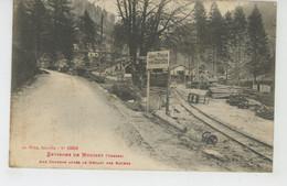 GUERRE 1914-18 - VOSGES - Environs De MOUSSEY - Aux Chavons Après Le Départ Des Allemands - Moussey