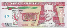 GUATEMALA - 10 Quetzales 2014 - UNC - Guatemala