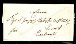 353/ Vorphilabrief, Mit Stempel Von RANDEGG In Schwarz, Nach Bonndorf - [1] Préphilatélie