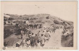 MAROC : Campagne Du Riff Partisans Venant Au Repos : édit. Mars N° 3013 ; Photo Flandrin ( Militaria ) - Sin Clasificación