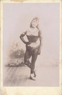 Photo Cabinet : Portrait D'une Danseuse En Tenue Fin XIXe - Anonyme (BP) - Antiche (ante 1900)
