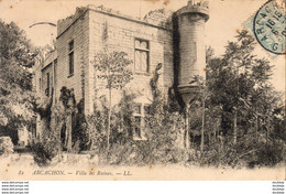 D33  ARCACHON  Villa  Les Ruines  ..... - Arcachon