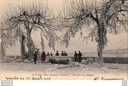 SUISSE GE GENÈVE Bise Glaciale - Au Quai Du Léman - GE Geneva