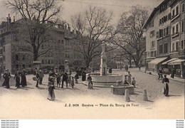 SUISSE GE GENÈVE Place Du Bourg De Four - GE Geneva
