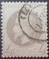 X127 - NAPOLEON III Lauré N°27B - CàD - TRES BON CENTRAGE - 1863-1870 Napoleone III Con Gli Allori