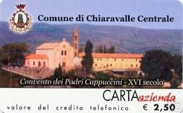 *CARTA AZIENDA 2° Tipo: COMUNE DI CHIARAVALLE CENTRALE - Cat. 319* - NUOVA (MINT) (FT) - Unclassified