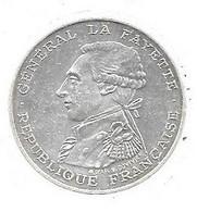 Piece En Argent De 100 Francs De 1987 - N. 100 Francos