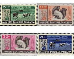 Ref. 39976 * MNH * - ZANZIBAR. 1965. AGRICULTURE DEVELOPMENT . DESARROLLO DE LA AGRICULTURA - Zanzibar (1963-1968)