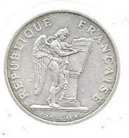 Piece En Argent De 100 Francs De 1989 - N. 100 Francos
