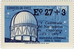 CHILI - 500 E. Anniversaire De  Nicolas Copernic Surtaxé - Astrology