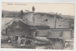 Oostende   Batterie Hindenburg    BATTERIE PREMIERE GUERRE MONDIALE - Oostende