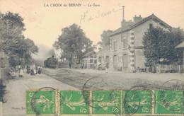 J110 - 92 - LA CROIX-DE-BERNY - Hauts-de-Seine - La Gare - Autres Communes