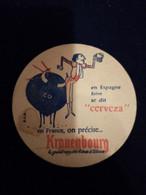 Ancien Sous Bock Kronenbourg - Beer Mats