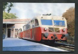 """Carte-photo Moderne """"Autorail De Dion-Bouton En Gare De Montpellier-Esplanade En Direction De Palavas-les-Flots / 1968"""" - Trenes"""