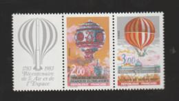 """FRANCE / 1983 / Y&T N° 2262A ** Ou P2262A ** : Paire """"Ballons"""" Avec Vignette X 1 - Nuovi"""
