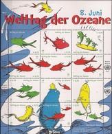 2013 UNO Wien Mi. 776-787**MNH  Welttag Der Ozeane - Hojas Y Bloques