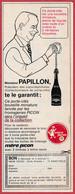 """Porte Clef """" Mère Picon """". Recommandé Par Mr Papillon. 1966. - Pubblicitari"""