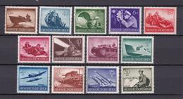 Deutsches Reich - 1944 - Michel Nr. 873/885 - Ungebr. - Ongebruikt