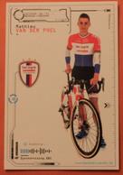 Cyclisme : Mathieu Van Der Poel , Champion Des  Pays Bas - Ciclismo