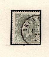 N° 35 1er Tirage (gris Et Gris Foncé - 1869-1883 Leopold II.