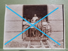 Photo Original, Mine  Tillenberg 1933 Differdange 11x9 - Otros