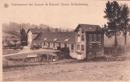 Etablissement Des Sources De Bousval Source St-Barthélemy - Genappe