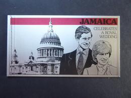 JAMAICA SG 516-19 Booklet 1981 Royal Wedding Charles/Diana - Jamaica (1962-...)