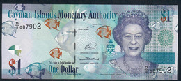 CAYMANS P38b 1 Dollar 2014 D/5 Issued 2015  UNC. - Isole Caiman