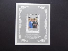 KENYA SG 211MS 1981 Royal Wedding Charles/Diana MNH - Kenia (1963-...)